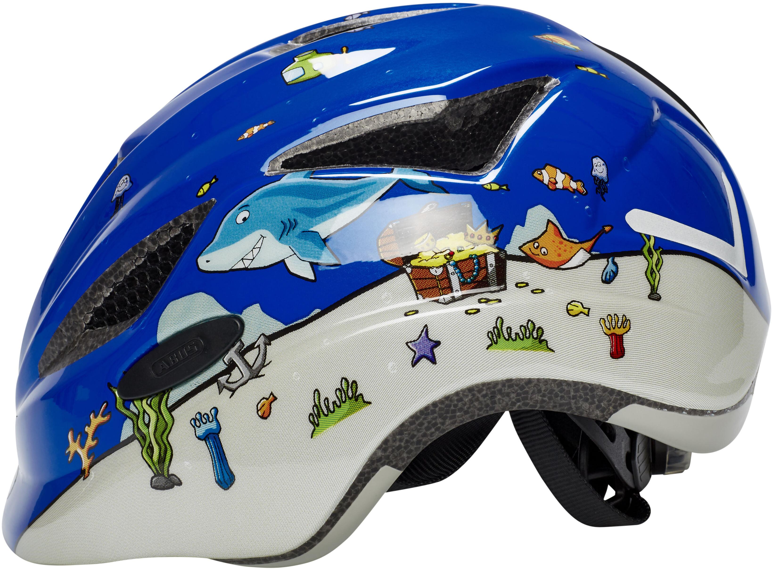 ABUS Anuky Cykelhjälm Barn blå - till fenomenalt pris på Bikester 3d1fcd3e434b8
